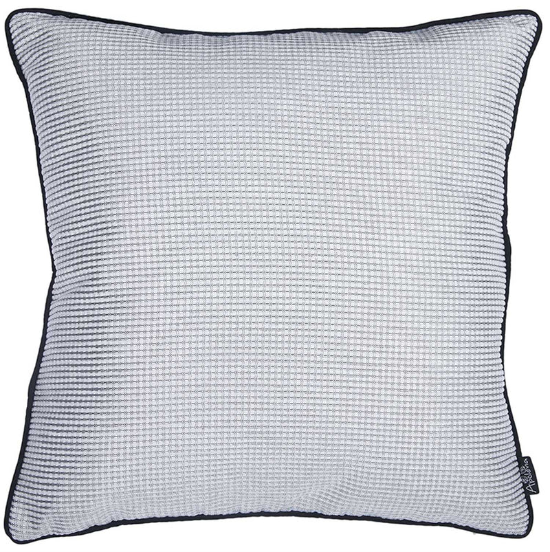 "17""x 17"" Jacquard Shadows Decorative Throw Pillow Cover - RichRange 