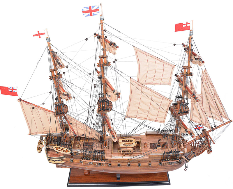 "8.25"" x 27.5"" x 26.75"" HMS Surprise - RichRange 