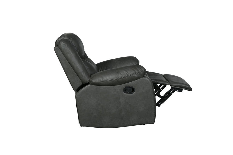 "42"" Gray Reclining Chair"