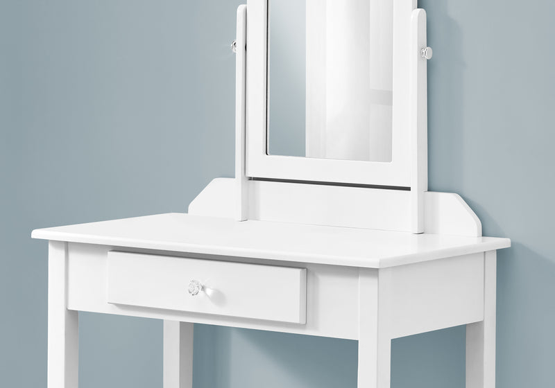 White Vanity Mirror and Storage Drawer - RichRange | The Best Deals Online: Furniture, Home Decor & More