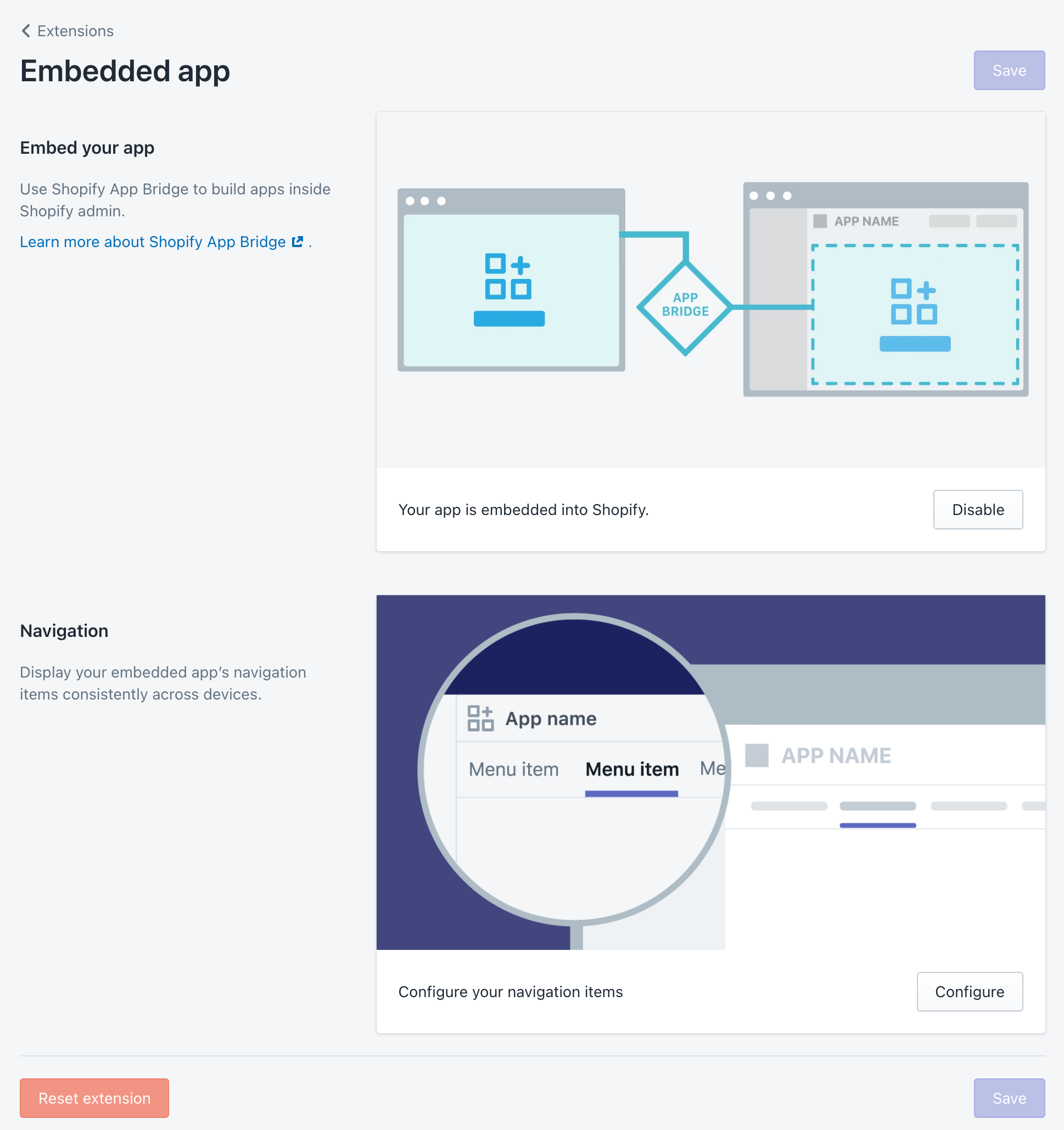 Shopify Partners - Embedded App
