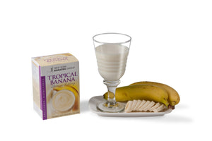 Tropical Banana Protein Shake/Pudding