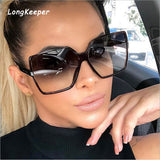 Designer Fashion Women Oversize Sunglasses