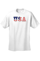 USA Flag T Shirt Men's United States Pride Short Sleeve Tee