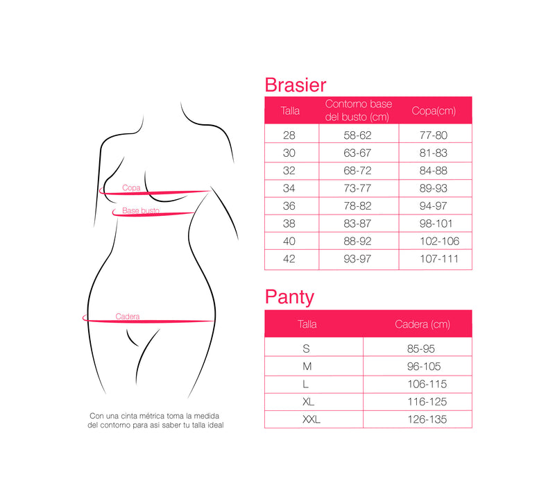 Brasier Strapless Control en Base