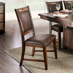 Wichita - Side Chair (2/CTN) - Distressed Dark Oak