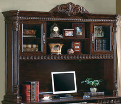 Tucker Collection - Tucker 6-drawer Credenza With Hutch Rich Brown