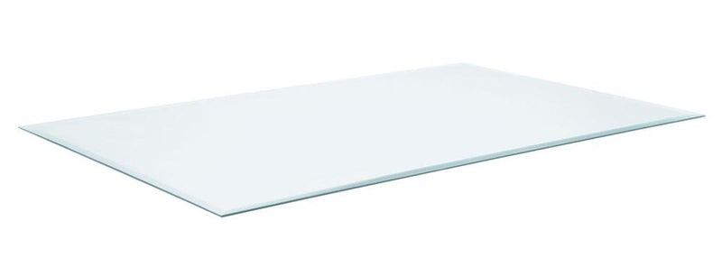 Rectangular Glass Table Top Clear