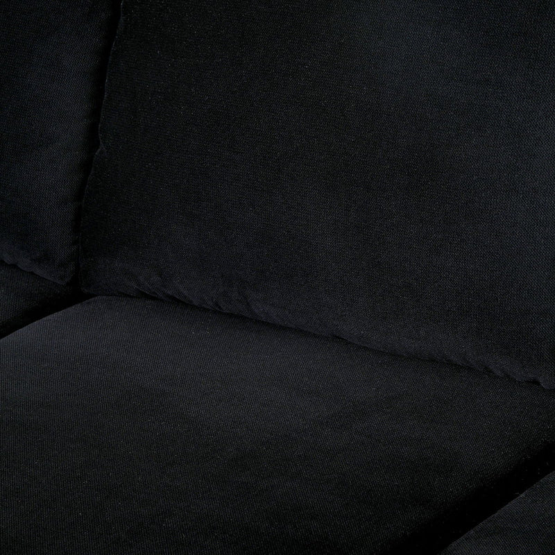 Lomma - Sectional - Black