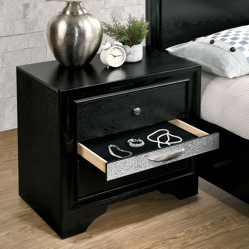 Chrissy - Night Stand - Black