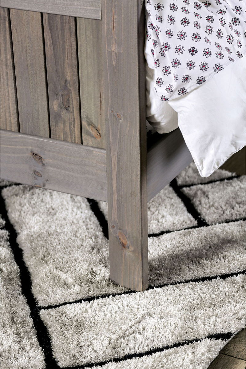 Rockwall - Full Bed - Weathered Gray