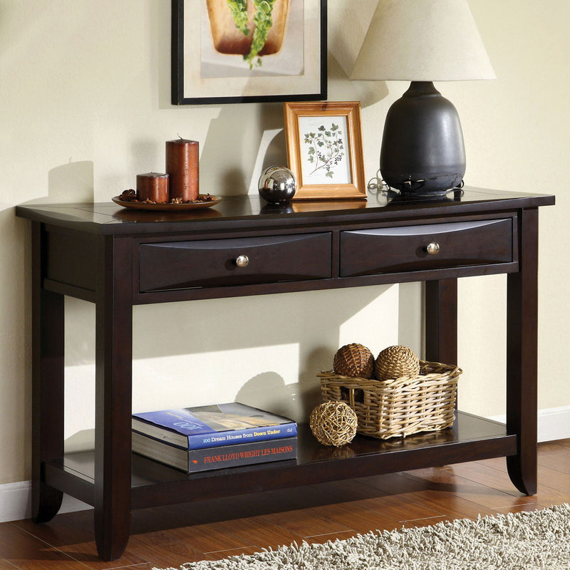 Baldwin - Sofa Table - Espresso