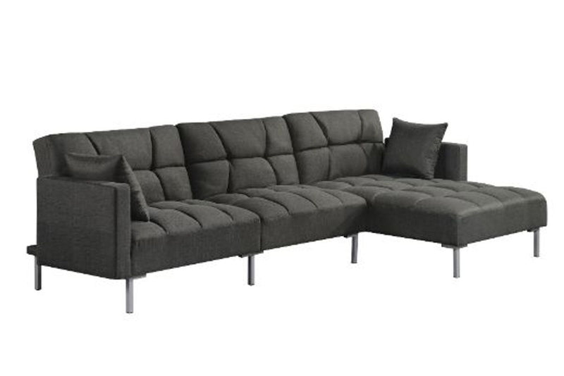 Duzzy - Reversible Adjustable Sectional Sofa w/2 Pillows