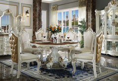 Picardy - Dining Table w/Single Pedestal