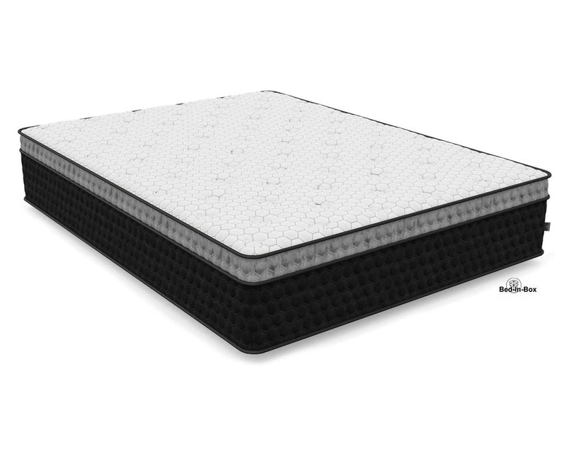 "14"" Diamond Balance Lux Copper Hybrid Mattress 