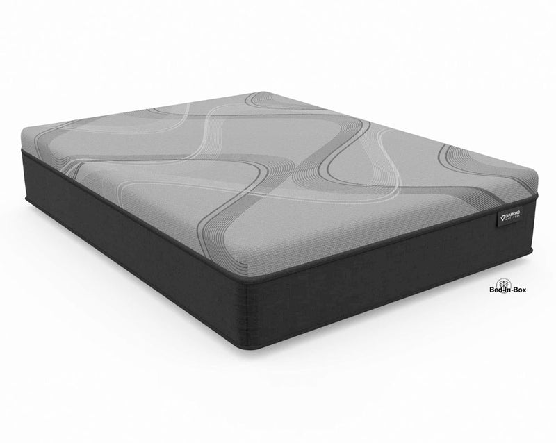 "14"" Diamond Onyx Ice Firm Mattress 