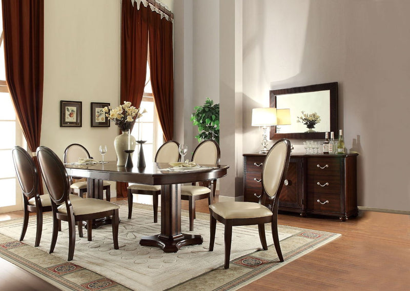 Balint - Dining Table w/Double Pedestal