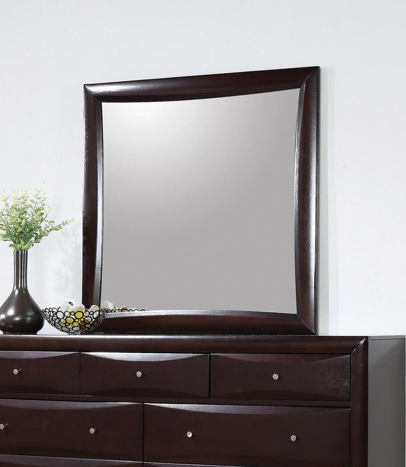 Phoenix Collection - Phoenix Square Dresser Mirror Deep Cappuccino