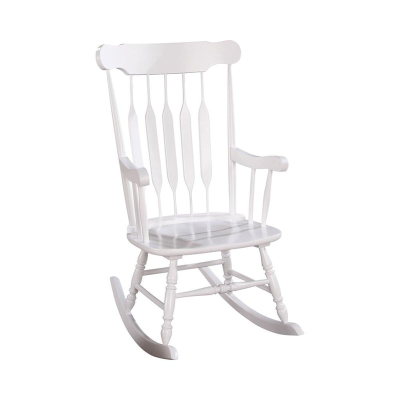 Living Room: Rocking Chairs - Windsor Back Rocking Chair White