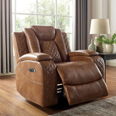 Alexia - Power Recliner - Brown