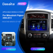 "Load image into Gallery viewer, Dasaita Car Multimedia Player 9"" Android 10 For Mitsubishi Pajero V97 V93 Radio 2006 2007 2008 2009 GPS Stereo Carplay"