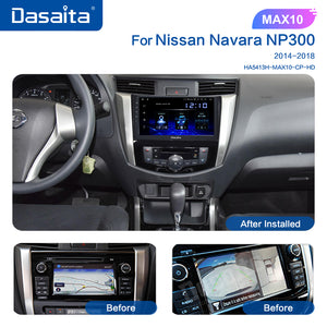 "Dasaita 10.2"" IPS Screen Android 10.0 Car Radio 1din for Toyota 4Runner DSP 2011 2014 2015 2017 2018 2019 2020 Navigation GPS"