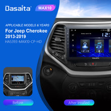 Load image into Gallery viewer, Dasaita Android 10.0 Car Stereo for Jeep Cherokee 2013 to 2019 Touch Screen DSP Wifi Bluetooth CarPlay / Android Auto 1280*720