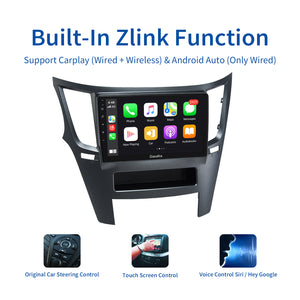 "Dasaita Car 1 din GPS Radio Android 10.0 TDA7850 for Subaru Legacy Outback 2009 2010 2011 2012 2013 2014 USB MP3 9"" Touch Screen"