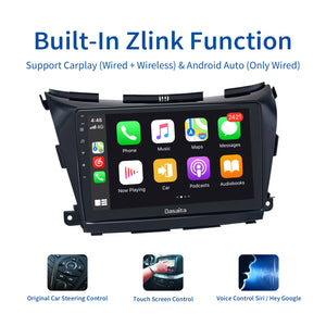 "Dasaita 10.2"" Multimedia Car Android 10.0 Radio for Nissan Murano Z52 2015 2016 2017 Touch Scree Navigation Car Stereo 64GB ROM"
