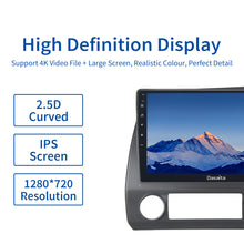 "Load image into Gallery viewer, Dasaita 10.2"" 1 Din Car Android 10.0 Radio for Honda Civic 2006 2007 2008 2009 2010 2011 1280*720 GPS Carplay HD Video OUT Bluetooth"
