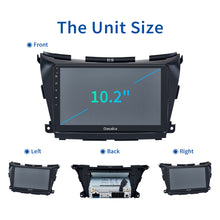"Load image into Gallery viewer, Dasaita 10.2"" Multimedia Car Android 10.0 Radio for Nissan Murano Z52 2015 2016 2017 Touch Scree Navigation Car Stereo 64GB ROM"