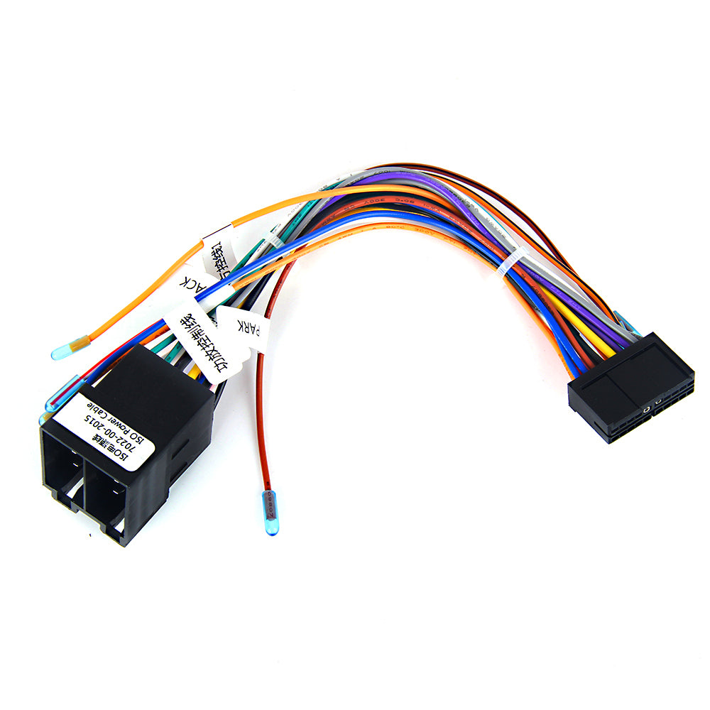 Dasaita ISO Car Stereo Wiring Harness Cable fit Dasaita Car Radio Head Unit,DYX002 Radio Wire Harness for VW Polo Audi Ford Plug