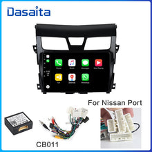 "Load image into Gallery viewer, Dasaita 10.2"" IPS Screen 1 Din Autoradio Android 10.0 for Nissan Teana Altima Radio 2013 2014 2015 Bluetooth 1080P Video"