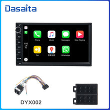 "Load image into Gallery viewer, Dasaita 7"" IPS Screen Car Radio Android 9.0 for Universal 2 Din  GPS Navigation Bluetooth 64GB ROM MAX10"
