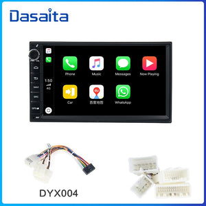 "Dasaita 7"" IPS Screen Car Radio Android 9.0 for Universal 2 Din  GPS Navigation Bluetooth 64GB ROM MAX10"