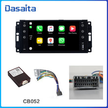 "Load image into Gallery viewer, Dasaita 7"" IPS Android 10.0 Car Radio for Jeep GPS Wrangler Chrysler Dodge Commander Compass Patriot Grand Cherokee Liberty"