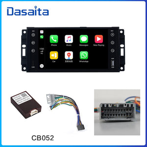 "Dasaita 7"" IPS Android 10.0 Car Radio for Jeep GPS Wrangler Chrysler Dodge Commander Compass Patriot Grand Cherokee Liberty"