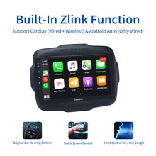 "Load image into Gallery viewer, Dasaita Android 10 Car Radio GPS for Jeep Renegade Carplay 2016 2017 2018 Multimedia Player with 9"" 2.5D IPS Screen"