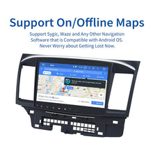 "Load image into Gallery viewer, Dasaita 10.2"" IPS Touch Screen Android 10 Car Stereo  for Mitsubishi Lancer 10 EVO Radio 1 Din GPS DSP 4G RAM Carplay MP3 Wifi"