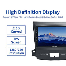 "Load image into Gallery viewer, Dasaita Car Android 10.0 For Mitsubishi Outlander 1 Din 2008 2009 2010 2011 Radio Stereo 9"" Multi Touch Screen TDA7850"