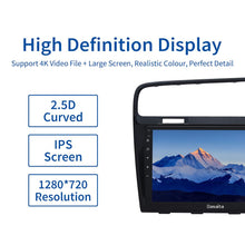 "Load image into Gallery viewer, Dasaita 10.2"" Car Android 10.0 Radio 1 Din for VW Golf 7 GPS 2013 2014 2015 2016 2017  Multi-Touch IPS screen Navigation TDA7850"