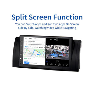 "Dasaita 9"" IPS Multi-Touch Screen GPS Bluetooth Android 10.0 Car Radio for BMW E39 E53 X5 Car Stereo Multimedia Navigation"