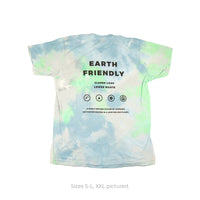 "Tie Dye Short Sleeve ""Ocean Breeze"""