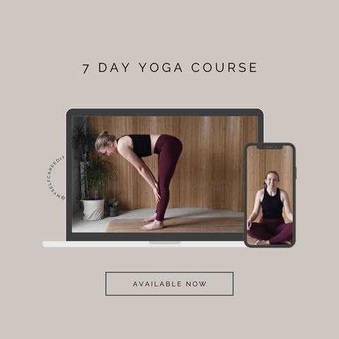 7 Day Online Yoga Course