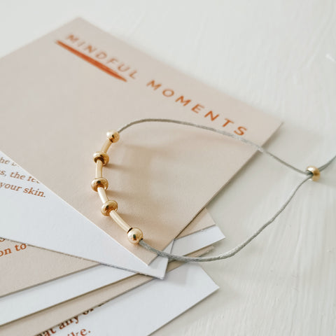 Gold Mindful Moments Bracelet