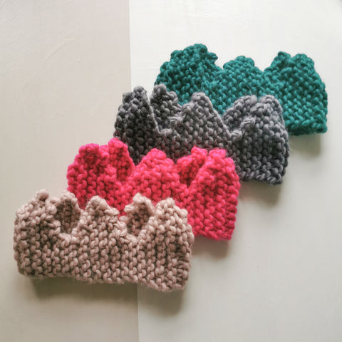 Cosy Knitted Crown