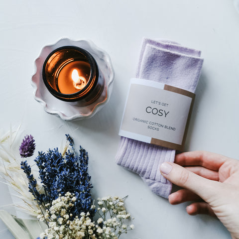 Downtime Candle & Cosy Socks Set