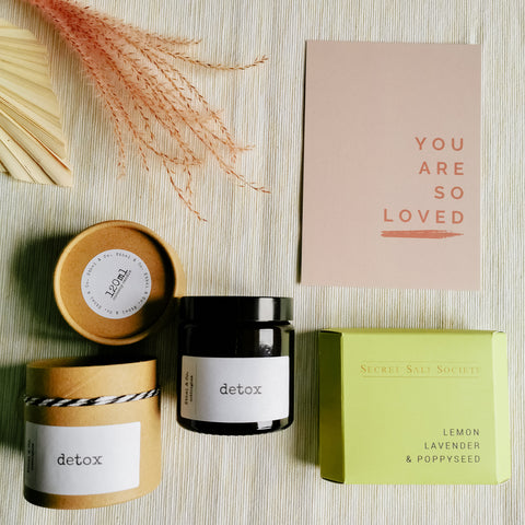 Refreshing Candle & Bath Salts Bundle