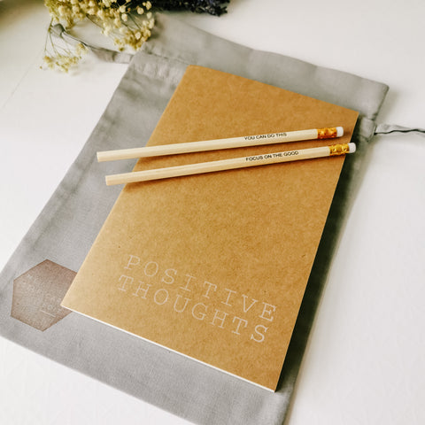 Positive Thoughts Notebook Set