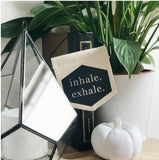 Inhale Exhale Mini Banner